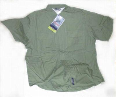 5.11 tactical short sleeve shirt color green size l