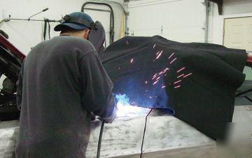 3 000 Deg Fire Heat Resistant Pyro Welding Blanket