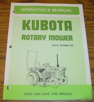 Kubota Tractor Maintenance | eHow.com