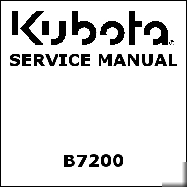 kubota b7200 service manual we have other manuals rh parts recycling com Kubota Tractor Parts Diagrams kubota b7200 parts manual