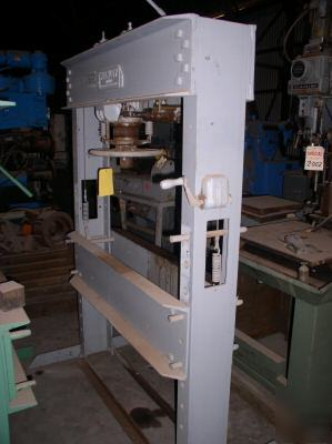 60 Ton Manley H Frame Hydraulic Press 8 Quot Stroke