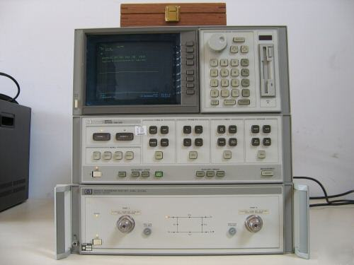 Agilent Network Analyzer Calibration Kit : Hp c network analyzer w a b ver kit