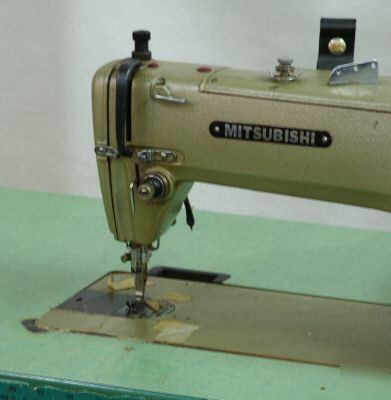 Mitsubishi Db40 Commercial Industrial Sewing Machine Adorable Mitsubishi Sewing Machine Manuals