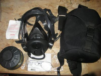 Survivair cbrn gas mask opti-fit msa scott police fire