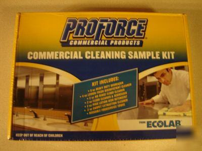 Commercial Cleaning Sample Kit By Proforce