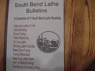 11 south bend lathe bulletins -lathe mill
