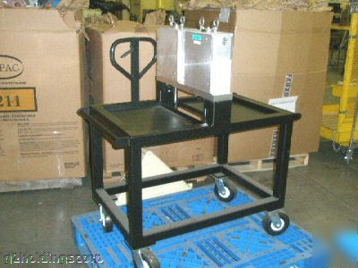 New Gas Assisted Injection Mold Cart For Die Bonding