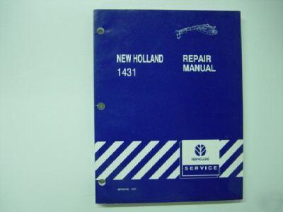 New holland 1431 mower conditioner repair manual