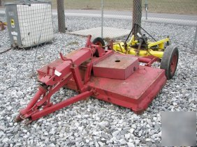 7: woods C80 pull type rotary mower for tractors