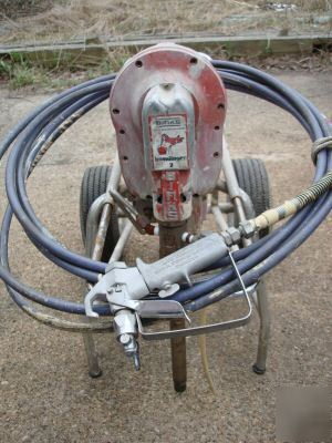 Binks Humdinger Airless Sprayer Electric Used Photo likewise Fuji Frenicmega besides Infiniti Emerg E Concept Car Interior View together with Nubbin Eliminator Roll Washer as well Belcrest Header. on 1 2 hp electric motor