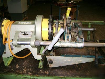 oster threading machine