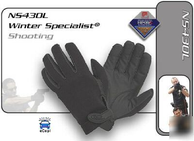 Hatch winter specialist police shooting gloves lg