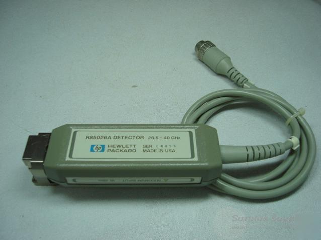 Hp R85026a Detector 26 5 40 Ghz R Band