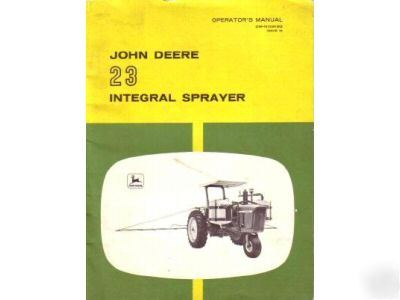 john deere 6000 sprayer parts manual