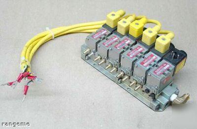 Numatics Mark 3 Direct Solenoid Air Regulator Valves