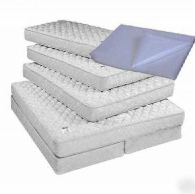 100 clear 1 5 mil plastic poly full mattress bags