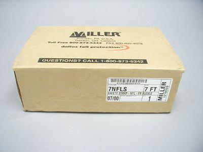 Miller safety strap 7NFLS 07/00 1210559 buckle fastener