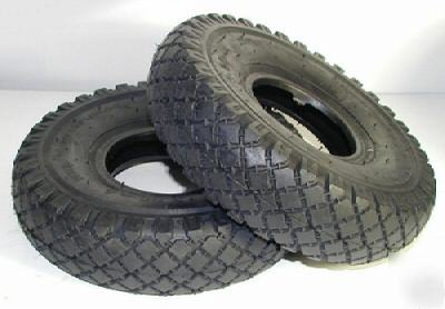 New 50 knobby tires size 10X3.00-4 ( 3.00-4 )( 260X85 )