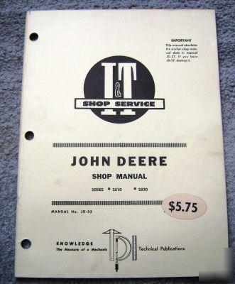 john deere 2520 service manual pdf