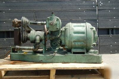 Wagner Motor 1 1 2hp Vickers Hydraulic Pump Assembly