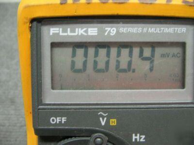 fluke 79 series ii multimeter with test probes rh parts recycling com Fluke 179 Fluke 114