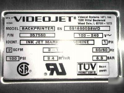 videojet excel 2000 service manual