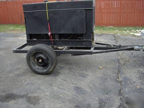 Miller big 40 gas stick welder generator 4 cyl 300 amps