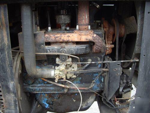 Lincoln Welders For Sale >> Miller big 40 gas stick welder generator 4 cyl 300 amps