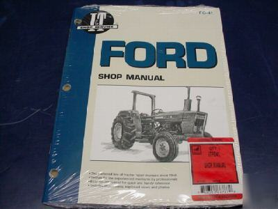 ford 3600 tractor parts manual
