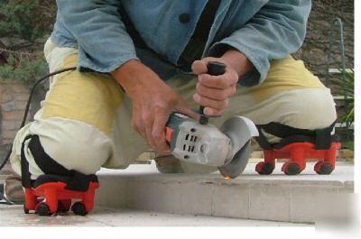 Superknees Professional Builder Diy Wheeled Knee Pads