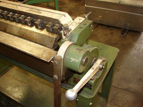 Diacro Di Acro No 24 Box Pan Finger Leaf Brake Press