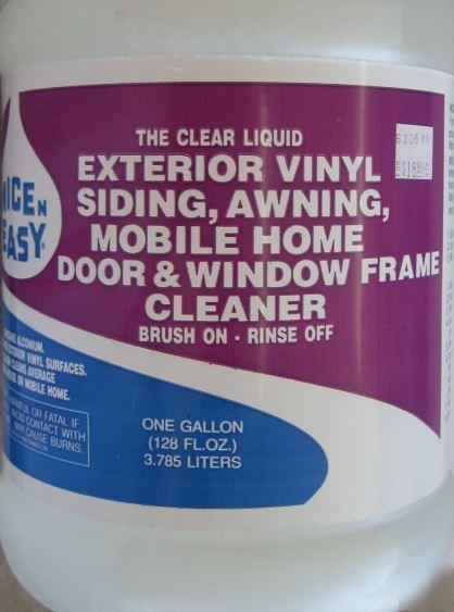exterior vinyl siding awning window cleaner nne 00905