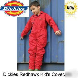 Dickies redhawk children's coverall,overall,boilersuit
