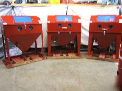 Is For Sale 48 X 24 Sandblaster Large Sand Blast Cabinet Usa Made