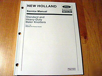new holland baler knotter service repair manual sperry New Holland 280 Baler new holland 275 baler parts manual