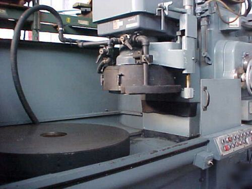 Mattison 42 Quot Rotary Surface Grinder Rebuilt 75 Hp Motor