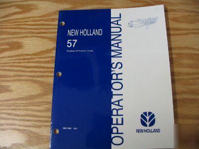 new holland 56 rake parts manual