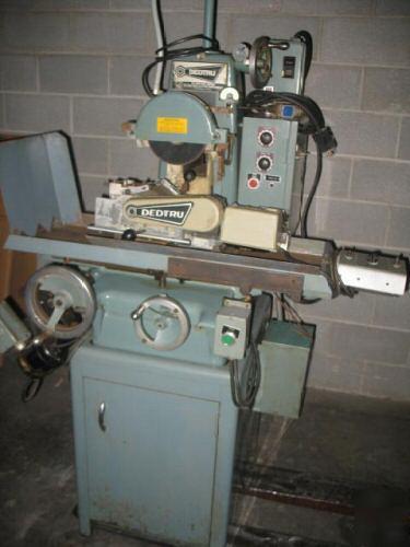 Grinding Parts Area : Unison centerless grinder with dedtru model c