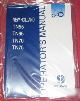 New holland TN55 TN65 TN70 tractors owner's manual